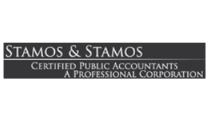 logo for stamos & stamos cpas
